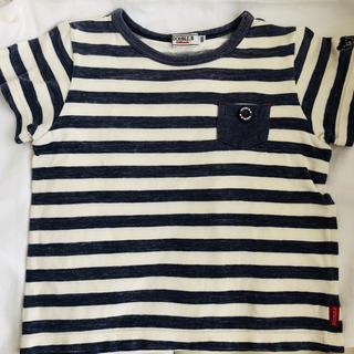 ダブルビー(DOUBLE.B)のダブルB ボーダー Tシャツ 100(Tシャツ/カットソー)