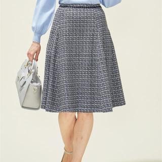 フェルゥ(Feroux)の2020年春新作☆Feroux ファンシーレディ ツイードスカート☆(ひざ丈スカート)