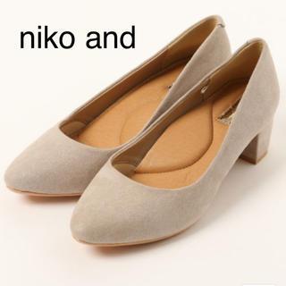 ニコアンド(niko and...)のヒールパンプス(ハイヒール/パンプス)