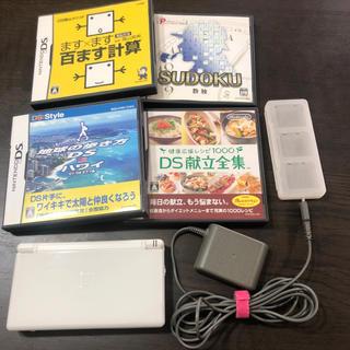 ニンテンドーDS(ニンテンドーDS)のNintendo DS Light 本体 ソフト4本セット(携帯用ゲーム機本体)
