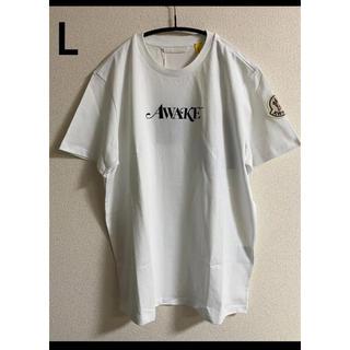 モンクレール(MONCLER)の20SS【新品】 MONCLER モンクレール ロゴ Tシャツ L(Tシャツ/カットソー(半袖/袖なし))