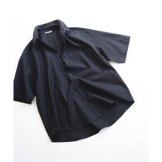 コモリ(COMOLI)の☆新品未使用☆AURALEE フィンクスツイル 半袖ビッグシャツ 2020SS(シャツ)