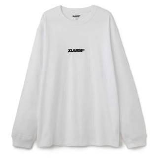 エクストララージ(XLARGE)のXLARGE ロンT ホワイト XL(Tシャツ/カットソー(七分/長袖))