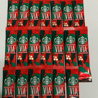 Starbucks Coffee - スターバックス VIA クリスマス ブレンド 20本 箱無し