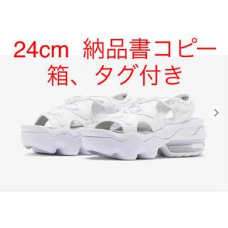 NIKE - NIKE ナイキ ココサンダル 24cm ホワイト