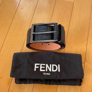 フェンディ(FENDI)の新品 FENDI メンズ ベルト ロゴ(ベルト)