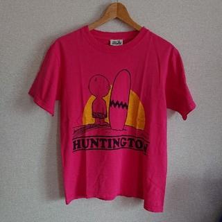 バックドロップ(THE BACKDROP)のバックドロップ ピーナッツ コラボ Tシャツ アメカジ(Tシャツ/カットソー(半袖/袖なし))