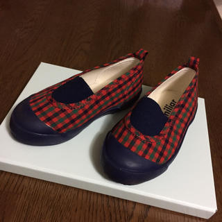 familiar - ファミリア  チェック  靴  14  美品
