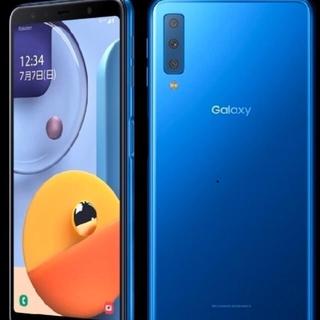 Galaxy - Galaxy A7 simフリー 64GB ブルー 残債なし