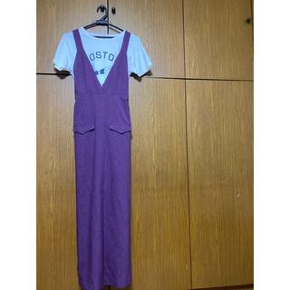 スコットクラブ(SCOT CLUB)のジャンパースカート(ロングワンピース/マキシワンピース)
