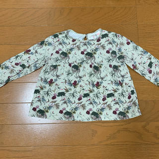 ザラキッズ(ZARA KIDS)の【美品】ZARA キッズ 98サイズ 長袖Tシャツ(Tシャツ/カットソー)