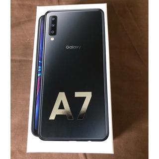 Galaxy - ギャラクシー Galaxy A7 ブラック64GB  新品未開封 送料無料