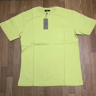 ハレ(HARE)のハレ 胸ポケットTシャツ イエロー M(Tシャツ/カットソー(半袖/袖なし))