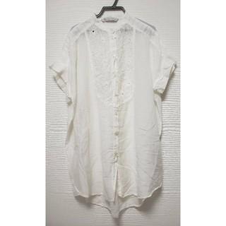イブルース(IBLUES)のIBLUES刺繍ブラウス(シャツ/ブラウス(半袖/袖なし))