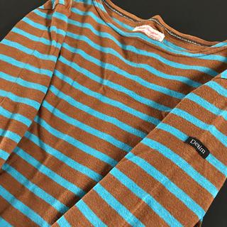 デニムダンガリー(DENIM DUNGAREE)のデニム&ダンガリーボーダーロンT150cm(Tシャツ/カットソー)