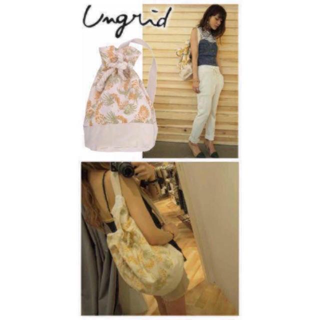 Ungrid(アングリッド)のアングリッド ショルダーバッグ レディースのバッグ(ショルダーバッグ)の商品写真