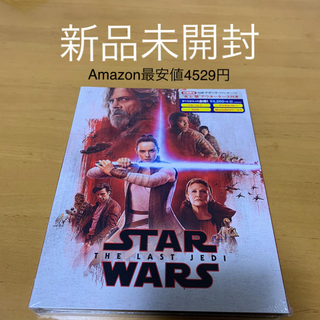ディズニー(Disney)のスター・ウォーズ/最後のジェダイ MovieNEX(初回版) Blu-ray(外国映画)