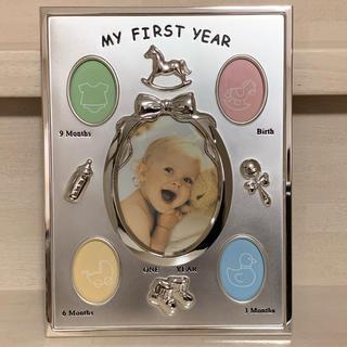 ベビー フォトフレーム ラドンナ MY FIRST YEAR 写真立て(フォトフレーム)