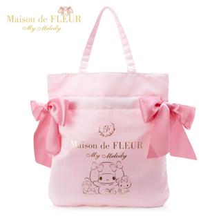 Maison de FLEUR - マイメロディ Maison de FLEUR トートバッグ