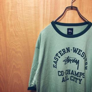 STUSSY - stussy ステューシー ビッグシルエット Tシャツ