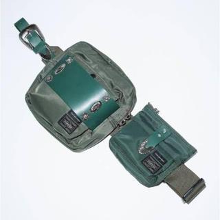トーガ(TOGA)のtoga × porter ほぼ未使用美品 ベルトバッグ ボディバッグ(ボディバッグ/ウエストポーチ)