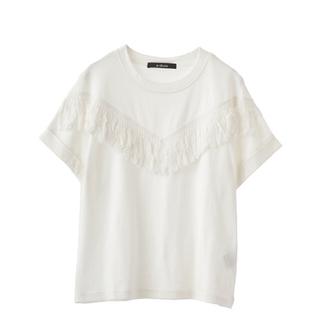 ダブルクローゼット(w closet)のw closet フリンジTシャツ(Tシャツ(半袖/袖なし))