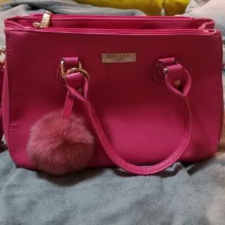 ピンクのバック (ハンドバッグ)