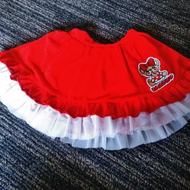 EARTHMAGIC(アースマジック)のアースマジックリバーシブル120ラブレターセット キッズ/ベビー/マタニティのキッズ服女の子用(90cm~)(スカート)の商品写真