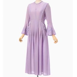 mame - mame ☆ 2019ss botanical embroidery dress