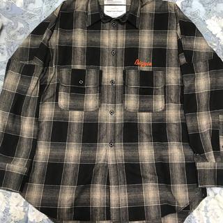 Jieda - dairiku  19aw biggie wool shirt オーバーサイズ