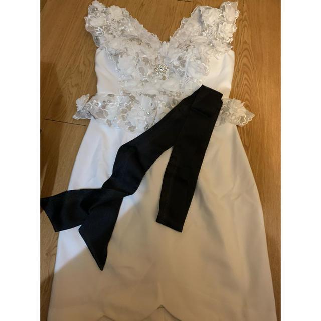 ROBE(ローブ)のローブドフルール 💓 レディースのフォーマル/ドレス(ミニドレス)の商品写真