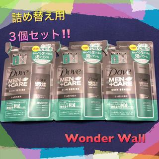 ユニリーバ(Unilever)の【新品】Dove MEN+CARE ダヴ メンズ 化粧水 詰め替え用(化粧水/ローション)