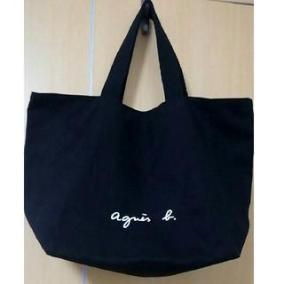 agnes b. - アニエス・ベー トートバッグ 黒