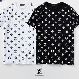 LOUIS VUITTON - [2枚8000円送料込み] Louis Vuitton 黒、白Tシャツ 半袖