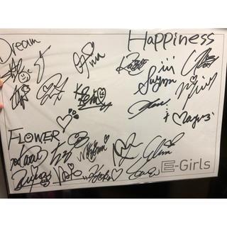 イーガールズ(E-girls)のE-Girls 初期メンバーサイン色紙 おまけ付き(女性タレント)