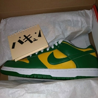 ナイキ(NIKE)のNIKE DUNK LOW SP BRAZIL 28cm(スニーカー)