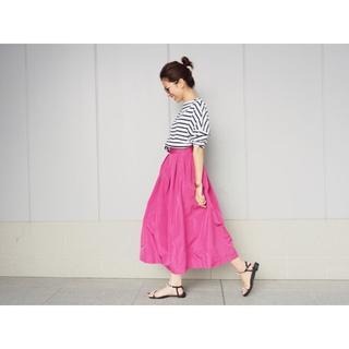 イエナ(IENA)の★mioim様専用★  IENA LA BOUCLE タフタバルーンスカート36(ロングスカート)