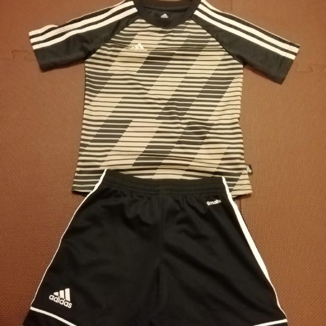 adidas(アディダス)の24時間以内発送 アディダス セットアップ キッズ 120cm~130cm スポーツ/アウトドアのサッカー/フットサル(ウェア)の商品写真