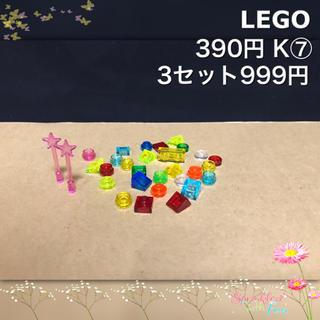Lego - LEGO レゴフレンズ K⑦ トランス クリアー スター 30piece