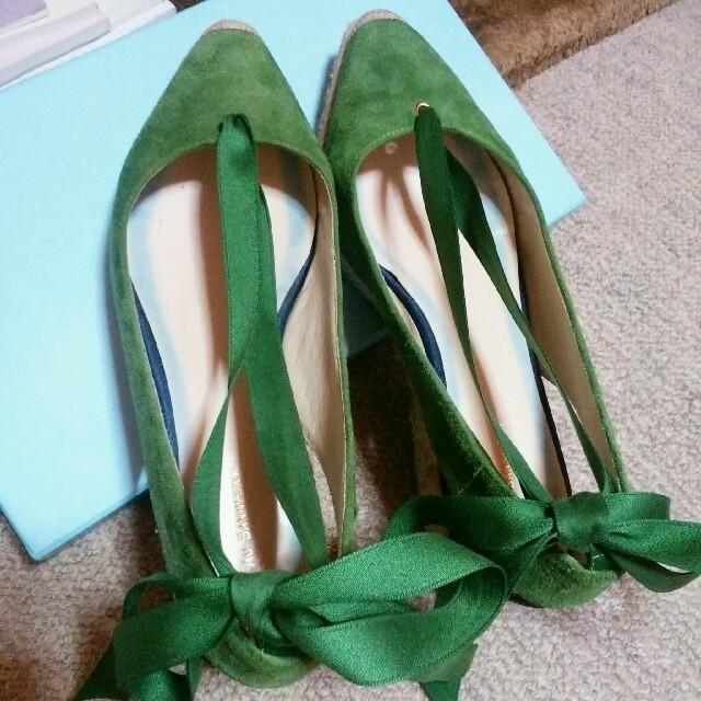 AU BANNISTER(オゥバニスター)のオゥバニスター スエード シューズ レディースの靴/シューズ(サンダル)の商品写真