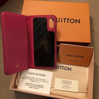 ルイヴィトン(LOUIS VUITTON)のルイヴィトン iPhone X ケース(iPhoneケース)