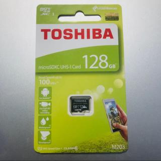 東芝 - microSDXCカード 128GB 東芝 TOSHIBA 高速100MB/s