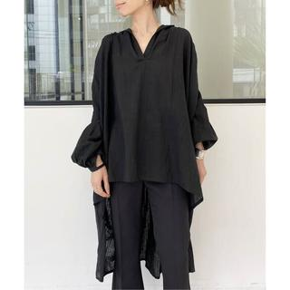 L'Appartement DEUXIEME CLASSE - アパルトモン【AISH/アイシュ】over size ギャザーシャツ