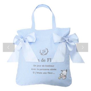 Maison de FLEUR - 【新品未使用】メゾンドフルール × ポチャッコ ダブルリボントートバッグ【限定】