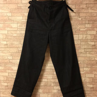 コモリ(COMOLI)のun/unbient pull pants wide(denim)(デニム/ジーンズ)
