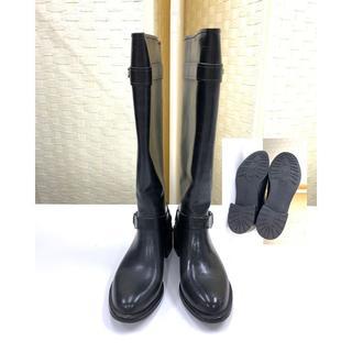 コールハーン(Cole Haan)のコールハーン COLE HAAN レインブーツ 5B 黒 靴(レインブーツ/長靴)