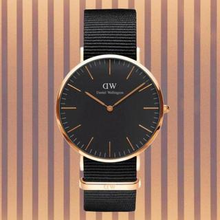 ダニエルウェリントン(Daniel Wellington)の安心保証付き【40㎜】ダニエルウエリントン 腕時計〈DW00100148〉(腕時計(アナログ))