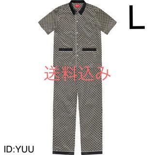 Supreme - 【L】SUPREME Satin Pajama Set パジャマ セット 黒
