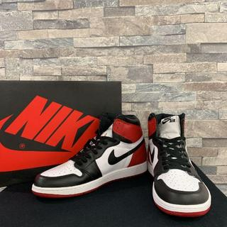 NIKE - NIKE AIR JORDAN 1 BLACK TOE