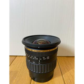 タムロン(TAMRON)のTAMROM SP AF11-18mm f4.5-5.6 DiⅡ sony用(レンズ(ズーム))
